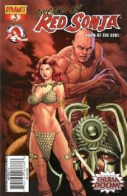 Red Sonja Doom of the Gods #3 Rubi Cover C